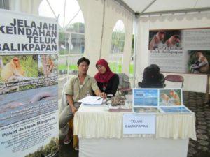 Edukační činnost místních dobrovolníků.